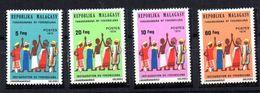 Serie  Nº 549/52  Madagascar. - Madagascar (1960-...)