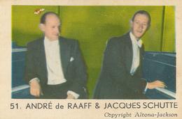 Maple Leaf, Nederlandse Radiosterren,André De Raaff & Jacques Schutte, 51 - Andere Verzamelingen