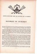 Dossier Sur Le DUNKERQUE Historique, Caractéristiques Techniques, Plan Et Phtos NB Ed Asso Des Amis Des Musées De Marine - Boten