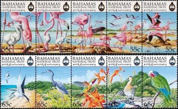 BAHAMAS 1999 Birds, American Flamingo, National Trust, Fauna MNH - Bahamas (1973-...)