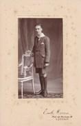 LOUVAIN Jeune Homme Par Emile MORREN Leuven Avant 1914 - Personnes Anonymes