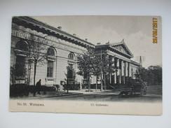 POLAND   WARSZAWA   WARSZAWA   UL KROLEWSKA CREDIT UNION BANK , OLD POSTCARD , Ko - Polonia
