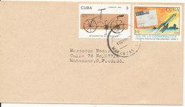 Cuba Cover 10-8-1994 Topic Stamps - Cuba
