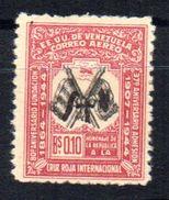 Sello  Variedad Nº A-179 Falta Color Amarillo Y Presenta Doble Impresion Venezuela - Venezuela