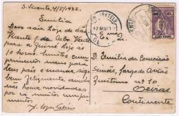 Cabo Verde, 1932, # 192, S. Vicente-Oeiras - Kapverdische Inseln