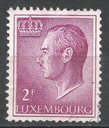 Luxembourg 1966. Scott #422 (U) Grand Duke Jean - 1965-91 Jean