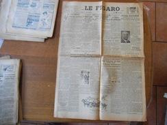 LE FIGARO N°600 DU JEUDI 18 JUILLET 1946 AMEDEE BUSSIERE PREFET DE POLICE DE MAI 1942 A AOUT 1944 REPOND DE L'ARRESTATIO - Zeitungen