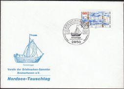 Germany Bremerhaven 1981 / 8. Nordsee Tauschtag / Sailing Ship / Hansekogge - Exposiciones Filatélicas