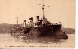 Marine De Guerre :le Navire  '' Du Chayla  '' - Guerra
