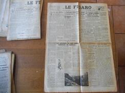 LE FIGARO N°603 DES 21-22 JUILLET 1946 POUR COMMEMORER LE PLUS GRAND PARACHUTAGE DE LA RESISTANCE LES AVIONS ALLIES LARG - Zeitungen
