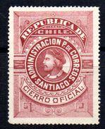 Sello Retour Nº 7 Chile - Chile
