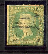 1223- Victoria Nº 8a - Sellos
