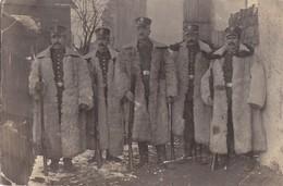 Foto Diedenhofen Landsturm Ersat Infanterie Regiment 1915 Winter Gewehr Deutsche Soldaten 1.Weltkrieg - Krieg, Militär