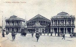 Cart. Roma - Stazione Termini B/N ( 14 X 9 ) - Stazione Termini