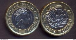 Great Britain UK 1 Pound 2017 UNC - 1971-… : Decimal Coins