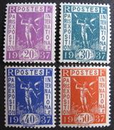LOT BP/196C - 1936 - EXPO PARIS - N°322 à 325 NEUFS** - Cote : 12,00 € - Unused Stamps