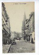 CPA Yvetot Rue De L'Église N° 6 Maison Delamare - Yvetot