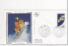 FDC Monaco O.E.T.P Salt Lake City 2002. - Winter 2002: Salt Lake City