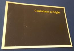 CANTERBURY BY NIGHT - Bei Nacht - Di Notte - La Nuit - All Black - Canterbury