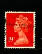GREAT BRITAIN - 1988  MACHIN  19p.  ACP  LITHO  FINE USED  SG X1013 - Machins