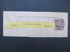 GANZSACHE Zeitungsstreifband 1910  //  D*27307 - 1850-1918 Imperium
