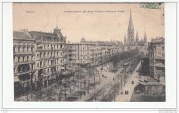 Berlin - Kurfurstendamm Und Kaiser Wilhelm - Gedachtnis - Kirche - Otros