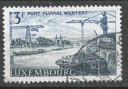 Luxembourg 1967. Scott #459 (U) Mertert Moselle River Port - Luxembourg
