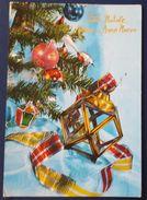BUON NATALE - FELICE ANNO NUOVO - ALBERO DI NATALE - TANNENBAUM - Italia Vg 1977 - Natale