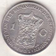 PAYS-BAS . 1 GULDEN 1931 . WILHELMINA .ARGENT - [ 3] 1815-… : Royaume Des Pays-Bas
