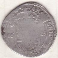 Pays-Bas Espagnols, 1 Escalin 1623  BRABANT , En Argent  , KM# 52.3 - Belgique