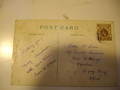 HONG-KONG  Carte Postale Pour La CHINE 1912-19 - Hong Kong (...-1997)