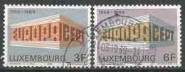 Luxembourg 1969. Scott #475-6 (U) Europa CEPT - Luxembourg