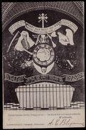 WESTMALLE 1906 - DE DOOD HET UUR AANDUIDENDE - CACHET RELAIS AU VERSO - ZR MOOIE STERSTEMPEL - Malle