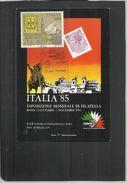 ITALIA REPUBBLICA ITALY REPUBLIC 1985 ESPOSIZIONE MONDIALE FILATELIA  ANTICHI STATI MODENA CARTOLINA CARD - 1981-90: Usati