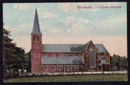 WESTMALLE 1906 - DE KERK - ZELDZAAM IN KLEUR - Malle