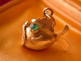 Ciondolo Charms  Vintage - Oro 18 Carati - Antique Gold - Pendenti