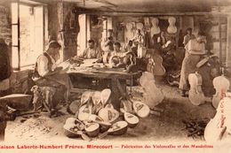 MIRECOURT-MAISON LABERT-HUMBERT FRERES - FABRICATION DES VIOLONCELLES ET DES MANDOLINES   BELLE CARTE ANIMEE - Mirecourt