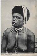 CPA Nu Féminin Femme Nue Ethnic Nouvelle Calédonie New Calédonia écrite - Nouvelle-Calédonie