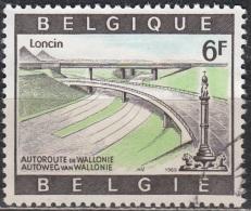 Belgique 1969 COB 1515 O Cote (2016) 0.40 Euro Echangeur De Loncin Cachet Rond - Belgique