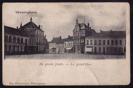 WAEREGHEM - WAREGEM -- DE GROOTE PLAATS - Précurseur ! - Waregem