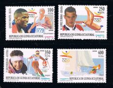GUINEA ECUATORIAL 1993 - OLYMPICS BARCELONA 92 - YVERT Nº 292-95 - EDIFIL Nº 165-168 - MICHEL 1760-1763 - SCOTT 179-182 - Verano 1992: Barcelona