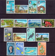 ST KITTS_NEVIS 1963 SG #129-44 Compl.set Used - St.Christopher-Nevis-Anguilla (...-1980)