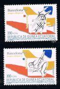 GUINEA ECUATORIAL 1992 - OLYMPICS BARCELONA 92 - YVERT Nº 280-282 - EDIFIL Nº 149-150 - MICHEL 1744-1745 - SCOTT 160-170 - Guinea Ecuatorial