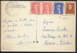 °°° 8432 - BELO HORIZONTE - LAGO DA PAMPULHA C/MUSEUM - 1963 With Stamps °°° - Belo Horizonte