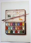 Carte Publicitaire Polo LACOSTE Agence Alain Fion Illustrateur Dietrich - Publicidad