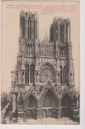51 Reims   Grand Portail De La Cathedrale - Reims