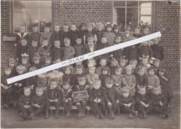 NIJLEN-BEWAARSCHOOL-1924-ORIGINELE FOTO-AFMETING+ - 12 - 17 CM-PRACHTIG DOCUMENT-ZIE 2 SCANS - Nijlen