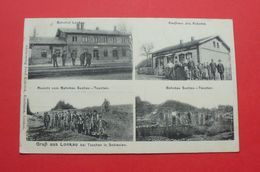 Louky (Lonkau), Karvina - 1919 - Czech Rep. --- Banhof , Railway Station , Tschechien Tchéquie Czechia --- 94 - Tchéquie