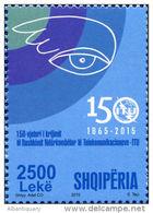 Albania 2015. The 150th Anniversary Of The ITU. Set MNH - Albania