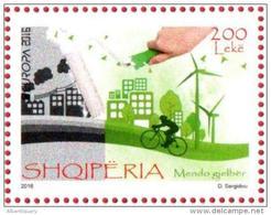 Albania Stamp 2016. EUROPA CEPT - Think Green. Set MNH - Albanië